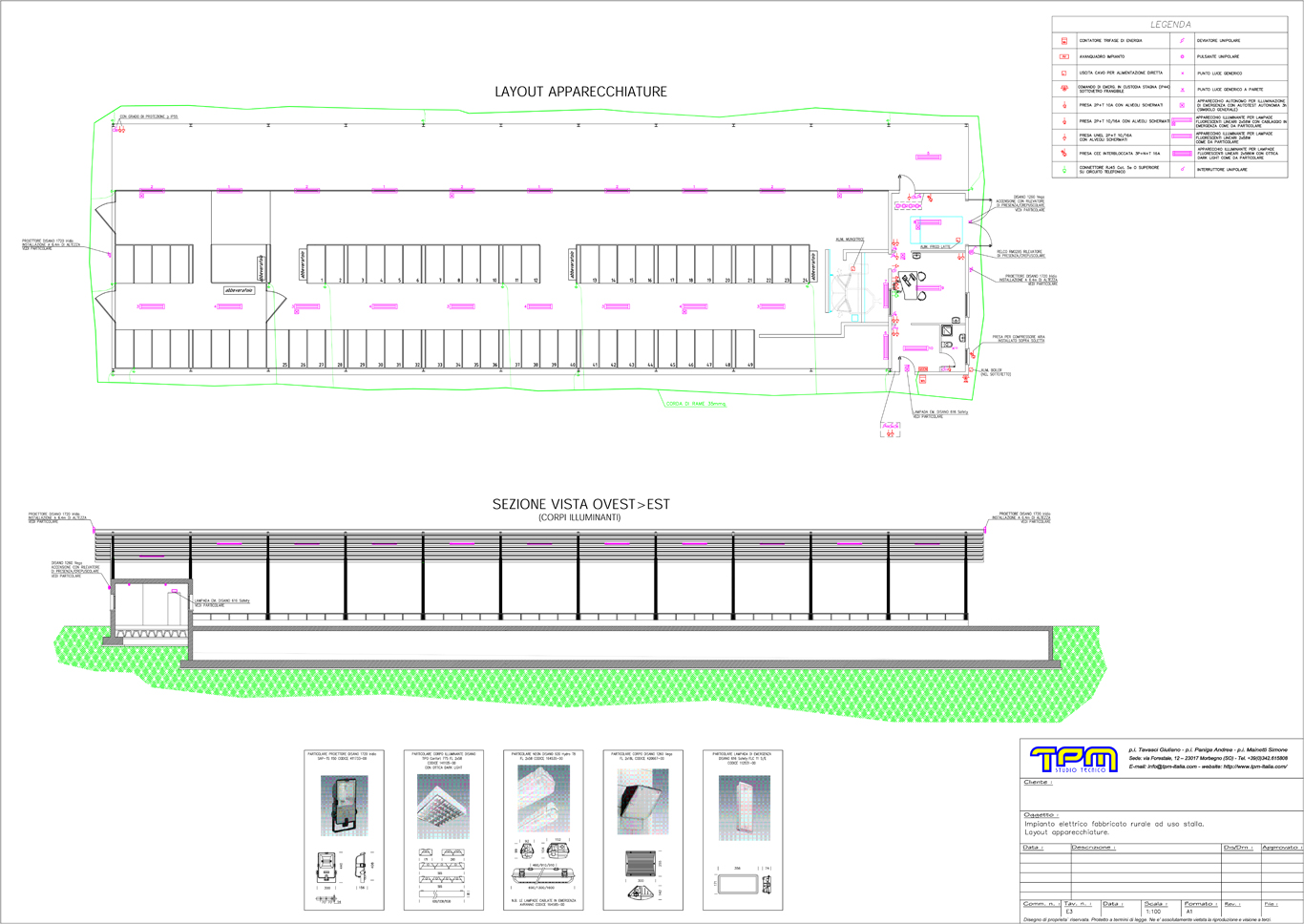 Schemi Elettrici Civili : Progettazione impianti elettrici studio tecnico tpm